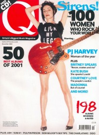Q Magazine : Lick My Legs cover