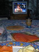 Saumon, pommes de terre et LCI