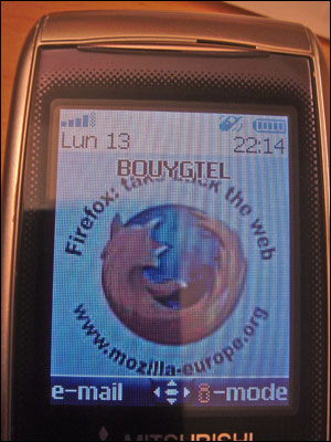 Tlphone Firefox