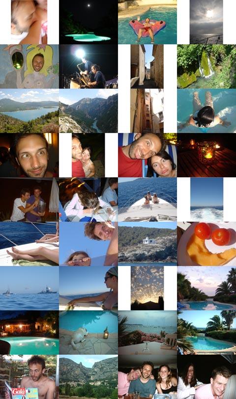 36 images pour trois semaines