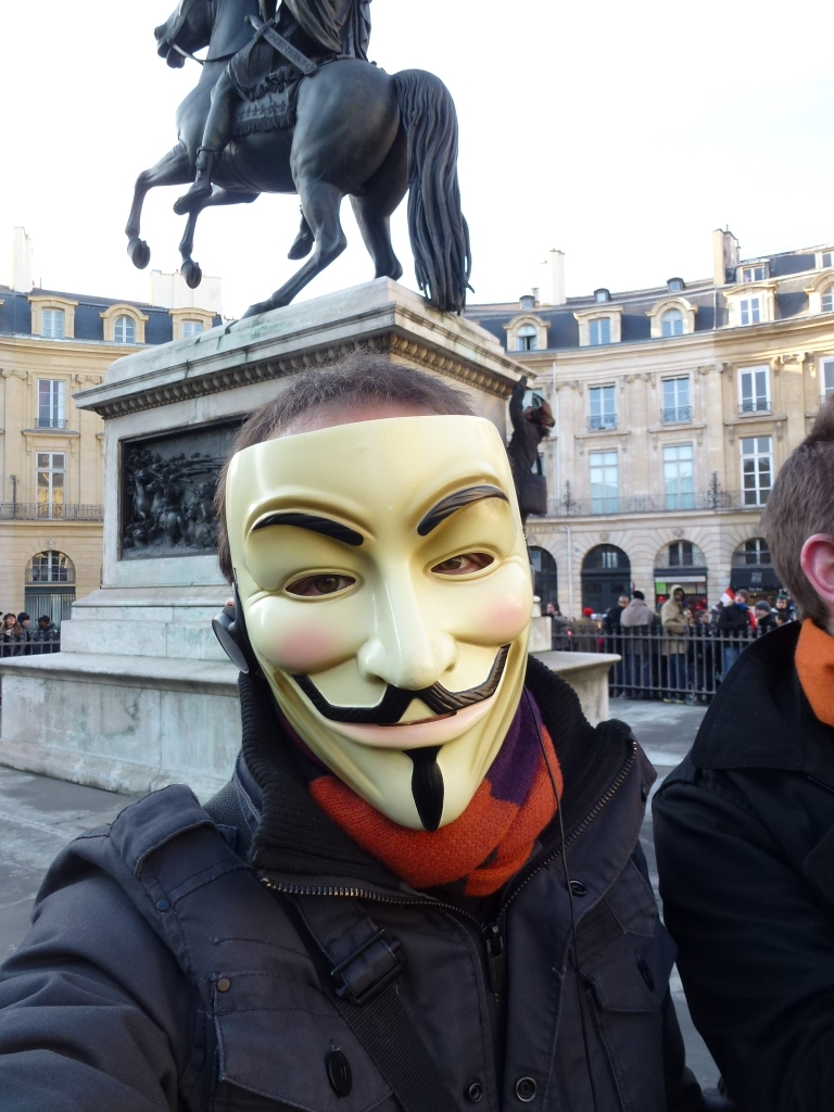2012-02-11 – Anti-ACTA demonstration in Paris